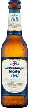 Weltenburger Kloster Hell - Pack 12x 0,33 Ltr.