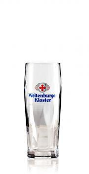 Weltenburger Kloster Trumpfbecher 0,25 ltr. - Karton Gläser 6 Stk.
