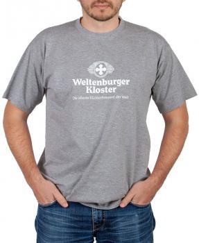 Weltenburger Kloster T-Shirt grau - Stück XXXL