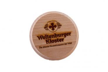 Weltenburger Kloster Bierkrugdeckel Holz - Stück